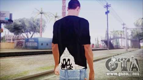 San Andreas T-Shirt para GTA San Andreas tercera pantalla