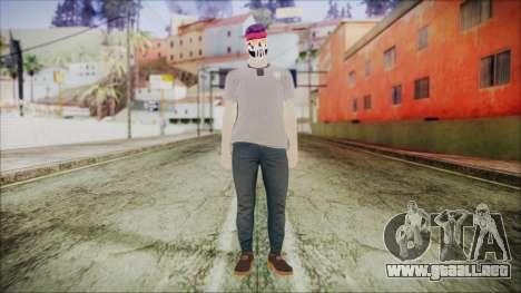 GTA Online Skin 1 para GTA San Andreas segunda pantalla