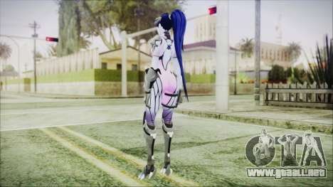 Widowmaker - Overwatch para GTA San Andreas tercera pantalla