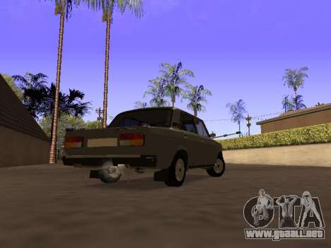 Principado VAZ 2107 San v0.3 para GTA San Andreas left