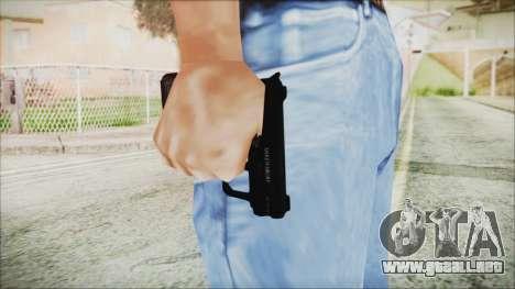GTA 5 SNS Pistol - Misterix 4 para GTA San Andreas tercera pantalla