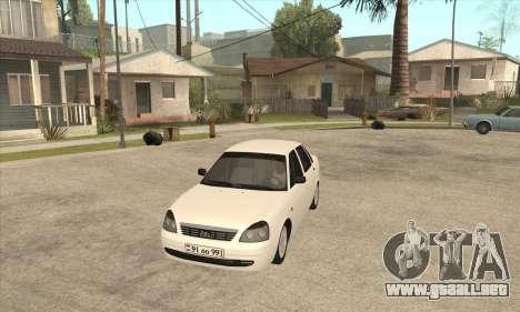 Lada Priora Armenian para GTA San Andreas