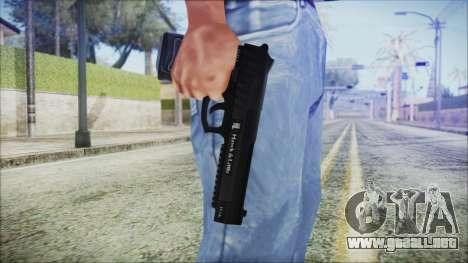 GTA 5 Pistol .50 v2 - Misterix 4 Weapons para GTA San Andreas tercera pantalla