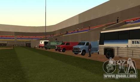 Béisbol para GTA San Andreas segunda pantalla