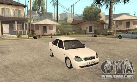 Lada Priora Armenian para GTA San Andreas left