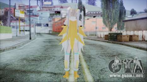 DoA5 LR Marie Rose Schoolgirl Striker Blonde para GTA San Andreas tercera pantalla