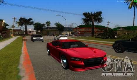 No hay mejor manera para GTA San Andreas quinta pantalla