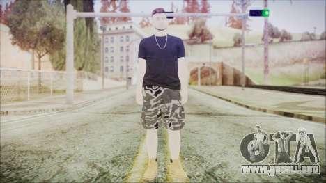 GTA Online Skin 46 para GTA San Andreas segunda pantalla
