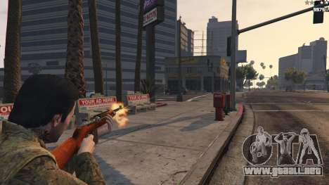 GTA 5 .30 Cal M1 Carbine Rifle tercera captura de pantalla