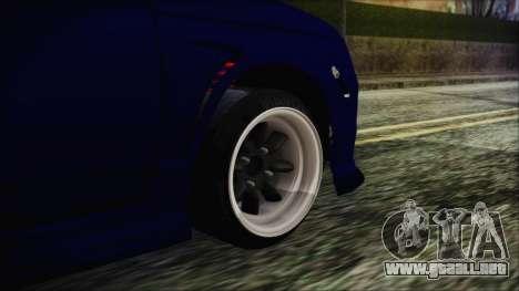 VAZ 2110 Deporte para GTA San Andreas vista posterior izquierda