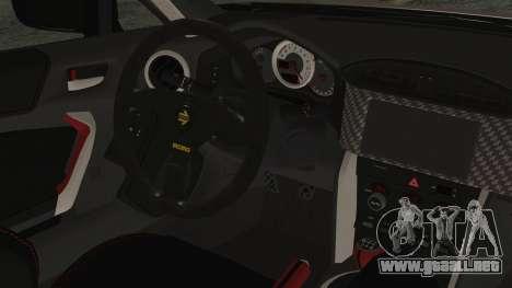 Toyota GT86 Rocket Bunny Tunable IVF para la visión correcta GTA San Andreas