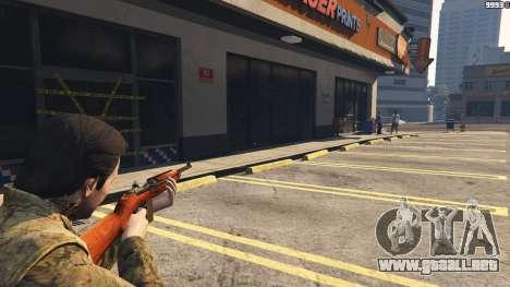 GTA 5 .30 Cal M1 Carbine Rifle décima captura de pantalla