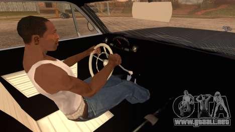 GTA 5 Declasse Clean Voodoo Hydra Version IVF para GTA San Andreas vista posterior izquierda