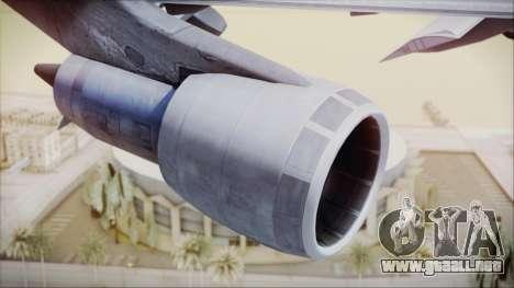 Boeing 747-128B Air France para la visión correcta GTA San Andreas