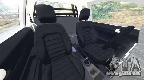 GTA 5 Volkswagen Saveiro G6 Cross vista lateral derecha