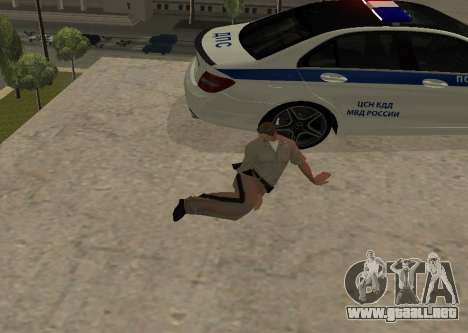 New Animations para GTA San Andreas segunda pantalla