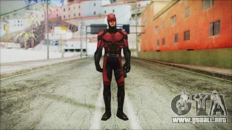 Marvel Future Fight Daredevil para GTA San Andreas segunda pantalla