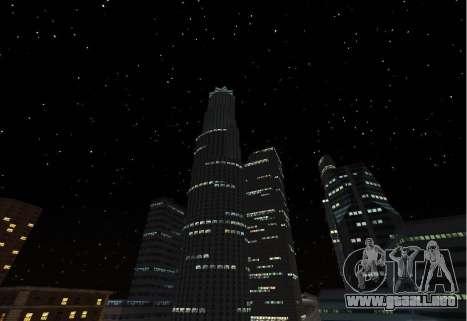 SkyBox and Lensflare para GTA San Andreas sucesivamente de pantalla