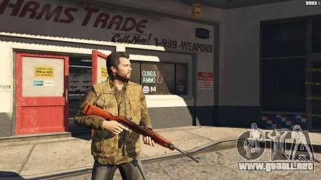 GTA 5 .30 Cal M1 Carbine Rifle