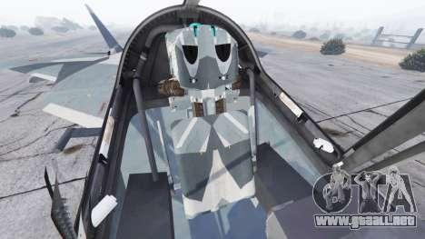 GTA 5 T-50 PAK FA v0.02 sexta captura de pantalla