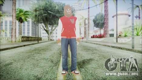 GTA Online Skin 34 para GTA San Andreas segunda pantalla