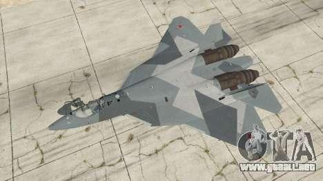 GTA 5 T-50 PAK FA v0.02 cuarto captura de pantalla