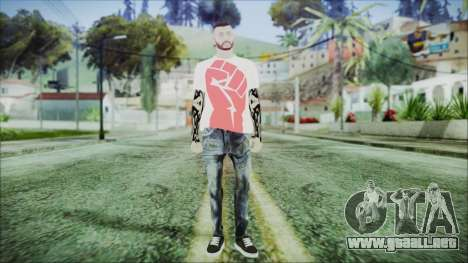 GTA Online Skin 17 para GTA San Andreas segunda pantalla