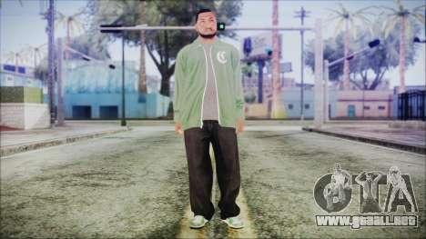 GTA 5 Grove Gang Member 1 para GTA San Andreas segunda pantalla
