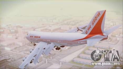 Boeing 747-237Bs Air India Akbar para GTA San Andreas left
