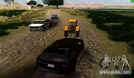 No hay mejor manera para GTA San Andreas tercera pantalla