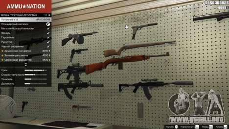 GTA 5 .30 Cal M1 Carbine Rifle segunda captura de pantalla