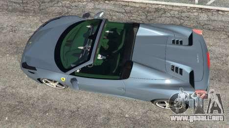 Ferrari 458 Spider 2012 para GTA 5