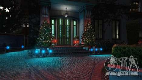 GTA 5 Adornos de navidad para la casa de Michael segunda captura de pantalla