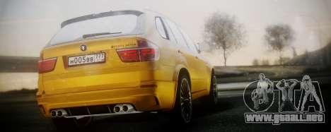 BMW X5M SMOTRA.GT para GTA San Andreas left