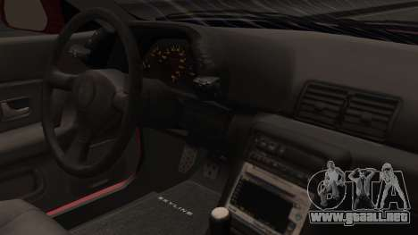 Nissan Skyline R32 para la visión correcta GTA San Andreas