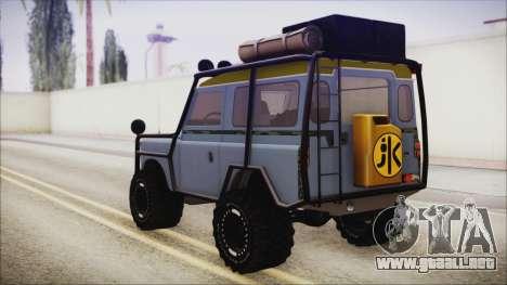 Land Rover Series 3 Off-Road para GTA San Andreas left