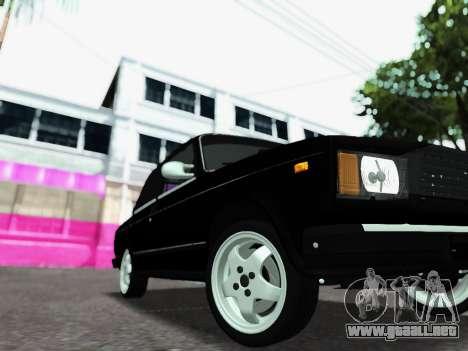 VAZ 2107-107 para la visión correcta GTA San Andreas