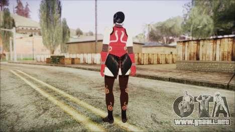 Tekken Tag Tournament 2 Zafina Dress v1 para GTA San Andreas tercera pantalla
