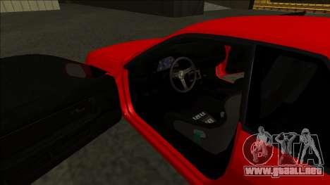 Nissan Skyline R32 Drift para vista lateral GTA San Andreas