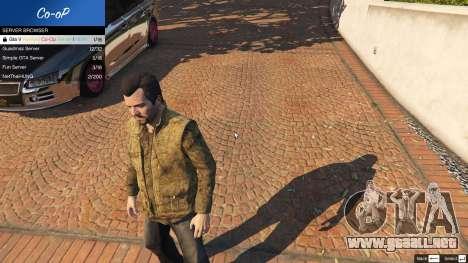 GTA 5 Multiplayer Co-op 0.6 tercera captura de pantalla