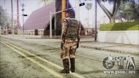 World In Conflict Orlovsky Winter para GTA San Andreas tercera pantalla