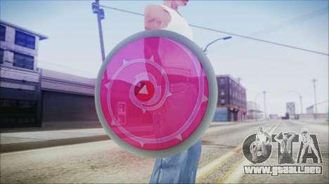 Steven Shield from Steven Universe para GTA San Andreas tercera pantalla
