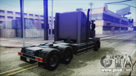 Kenworth T908 v1.0 para GTA San Andreas left