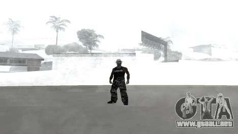 Skin pack para la Rifa de la pandilla para GTA San Andreas tercera pantalla