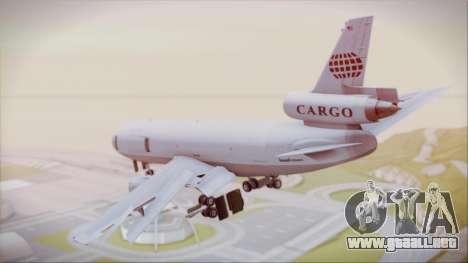 McDonnell-Douglas DC-10-30F World Airways para GTA San Andreas left
