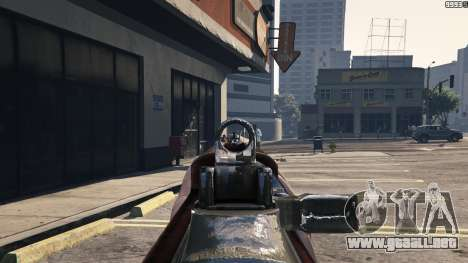 GTA 5 .30 Cal M1 Carbine Rifle séptima captura de pantalla