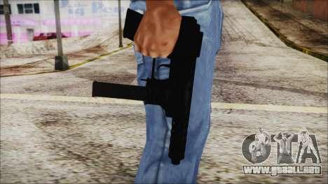 TEC-9 ACU para GTA San Andreas tercera pantalla