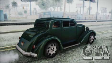 Hustler Beta para GTA San Andreas left