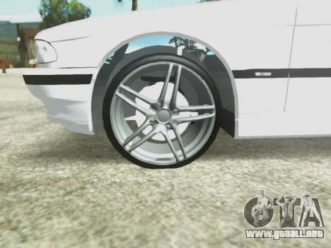 BMW 750i para vista lateral GTA San Andreas