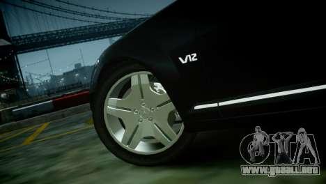 Mercedes-Benz S600 2011 para GTA 4 visión correcta